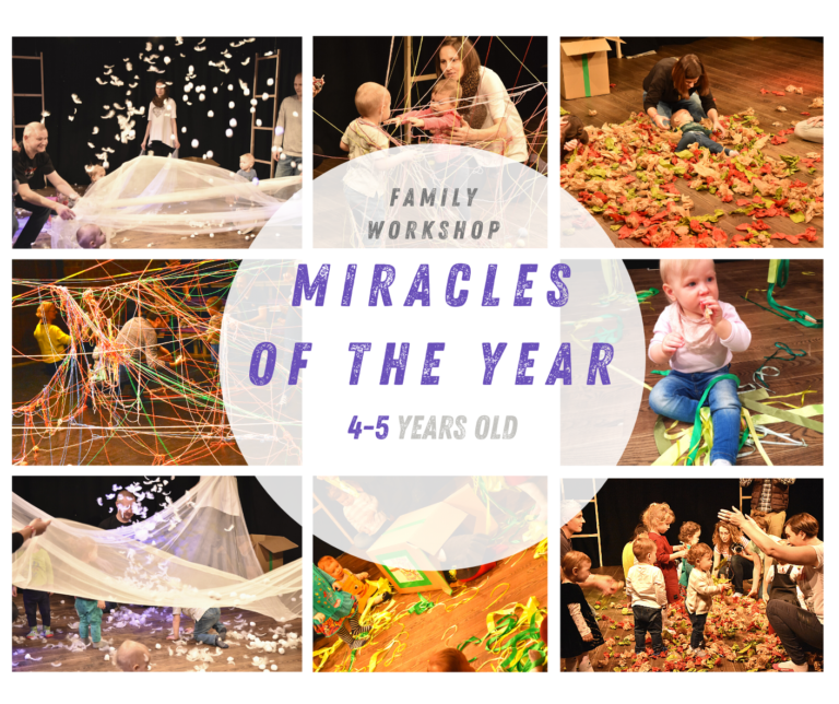 Workshop Miracles of the year 4-5 yrs