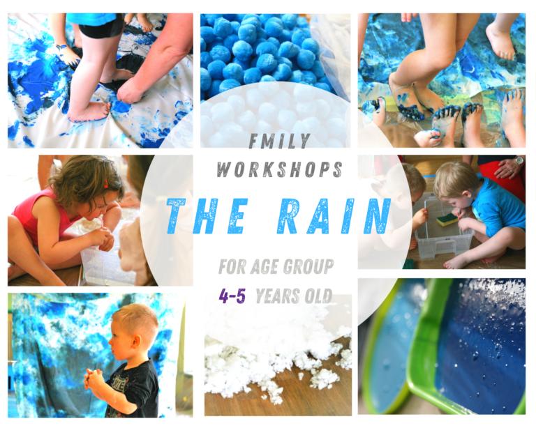 Workshop de Regen (4 en 5 jaar)