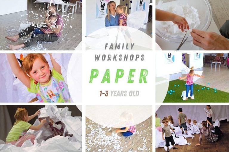 Collage Papier Workshop voor kleine kinderen